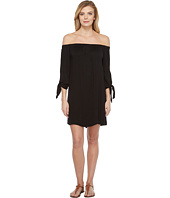 Michael Stars - Romy Rayon Off Shoulder Tie Sleeve Dress