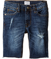 Hudson Kids - Hess Cut Off Slim Straight Shorts in Medium Stone Used (Toddler/Little Kids/Big Kids)