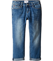 Hudson Kids - Jax Roll Crop Five-Pocket Skinny in Light Indigo (Big Kids)