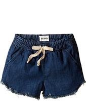 Hudson Kids - Frayed Chambray Jog Shorts in Galeon (Toddler/Little Kids)