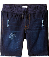 Hudson Kids - French Terry Pull-On Shorts in Power Blue (Toddler/Little Kids/Big Kids)