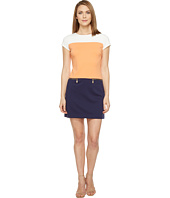 Ellen Tracy - Color Block Ponte Dress