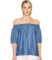 Kate Spade New York - Chambray Off the Shoulder Top