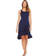 Mod-o-doc - Slub Jersey Hi-Low Strappy Dress