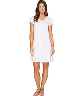 Mod-o-doc - Cotton Modal Spandex French Terry Short Sleeve T-Shirt Dress