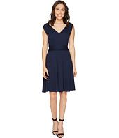 Three Dots - Sleeveless Shirred Dress