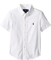 Polo Ralph Lauren Kids - Performance Oxford Short Sleeve Button Down Shirt (Toddler)