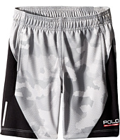 Polo Ralph Lauren Kids - Textured Poly Camo Shorts (Little Kids)