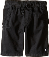 Polo Ralph Lauren Kids - Parachute Poplin Pull-On Shorts (Little Kids)