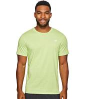 New Balance - Heather Tech Short Sleeve