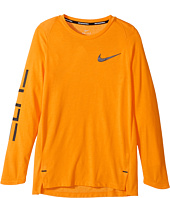 Nike Kids - Dry Elite Long Sleeve Basketball Top (Little Kids/Big Kids)