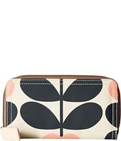 Orla Kiely - Summer Flower Stem Big Zip Wallet