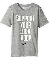 Nike Kids - Dry Support Local Basketball Tee (Little Kids/Big Kids)