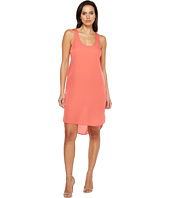 HEATHER - Silk Scoop Tank Dress