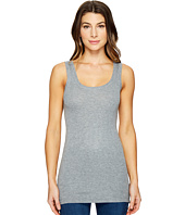 HEATHER - Basic Rib Tank Top