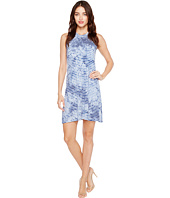 Karen Kane - Tie-Dye Stripe Halter Dress