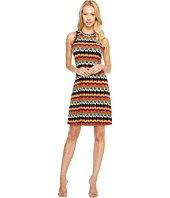 Karen Kane - Abstract Zigzag Halter Dress