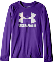 Under Armour Kids - Big Logo Slash Long Sleeve (Big Kids)