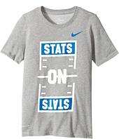 Nike Kids - Dry Soccer Stats On Stats T-Shirt (Little Kids/Big Kids)