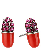Marc Jacobs - Charms Wonderland Strass Pill Studs Earrings