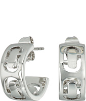 Marc Jacobs - Icon Cut Out Small Hoop Earrings