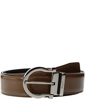 Salvatore Ferragamo - Single Gancini Basic Belt - 679781