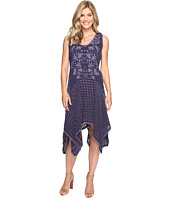 Johnny Was - Eyelet Faith Dress w/ Slip