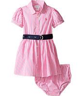 Ralph Lauren Baby - Woven Drop Waist Dress (Infant)