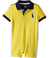 Ralph Lauren Baby - Classic Mesh Polo Shortalls (Infant)