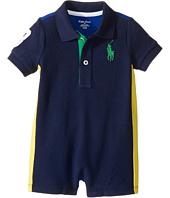 Ralph Lauren Baby - Classic Mesh Polo Shortalls (Infant)