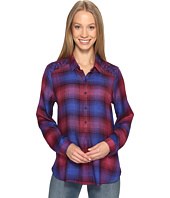 Lucky Brand - Embroidered Plaid Top