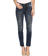 Jag Jeans - Rochelle Slim Ankle Jeans in Camo Denim