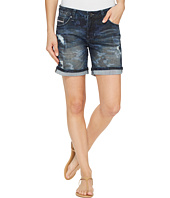Jag Jeans - Alex Relaxed Boyfriend Shorts in Camo Printed Denim