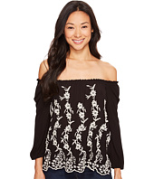 Lucky Brand - Embroidered Off the Shoulder Top