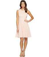 Calvin Klein - Laser Cut Flare Dress
