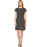Calvin Klein - Short Sleeve Stripe T-Shirt Dress