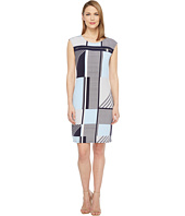 Calvin Klein - All Over Print Zipper Dress