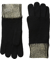 COACH - Metallic Foil Gloves