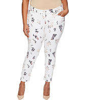 Lucky Brand - Plus Size Ginger Skinny Jeans in Botanical Toss