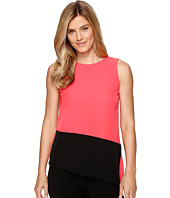 Calvin Klein - Sleeveless Top with Angle Bottom