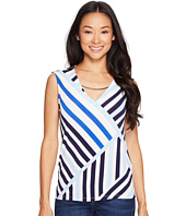 Calvin Klein - Printed Sleeveless Top with Hardware