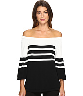 Calvin Klein - Off Shoulder Bell Sleeve Sweater