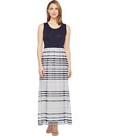 Calvin Klein - Printed Maxi with Chiffon Bottom