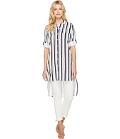 Calvin Klein - Stripe Roll Sleeve Tunic
