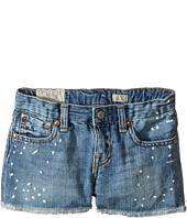 Polo Ralph Lauren Kids - Paint Splat Shorts in Jess Wash (Little Kids)