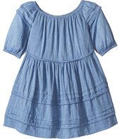 Polo Ralph Lauren Kids - Gauze Chambray Dress (Little Kids)