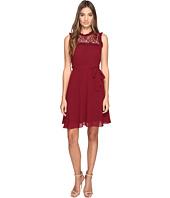 ROMEO & JULIET COUTURE - Sleeveless Lace Yoke Dress