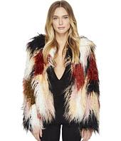 ROMEO & JULIET COUTURE - Colorful Faux Fur Jacket