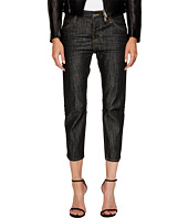 DSQUARED2 - Vintage Black Wash Cool Girl Cropped Jeans