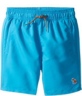 Paul Smith Junior - Turquoise Swim Shorts with Dino Appearing When Wet (Toddler/Little Kids)